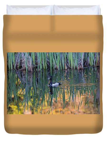 Duvet Cover featuring the photograph B32 by Joshua Able's Wildlife