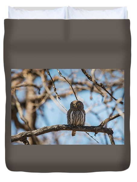 Duvet Cover featuring the photograph B34 by Joshua Able's Wildlife