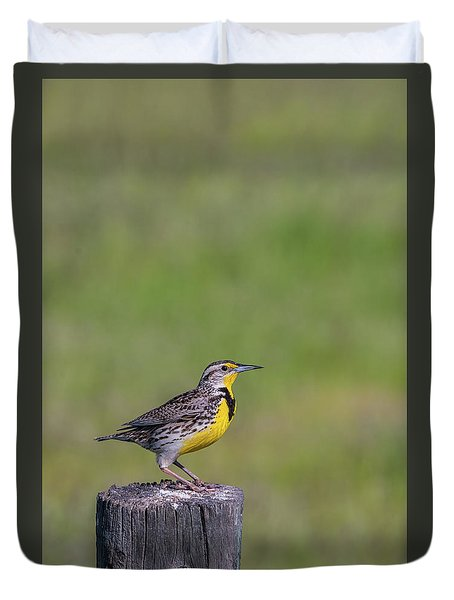 Duvet Cover featuring the photograph B39 by Joshua Able's Wildlife