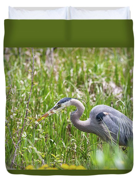 Duvet Cover featuring the photograph B40 by Joshua Able's Wildlife