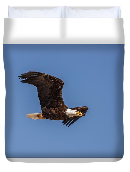 Duvet Cover featuring the photograph B8 by Joshua Able's Wildlife