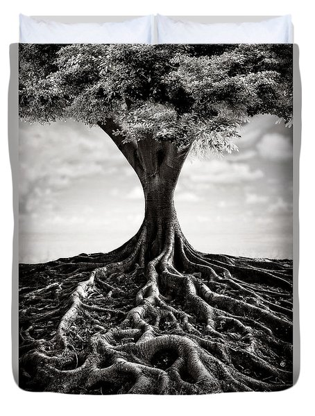 Back To The Roots Duvet Cover