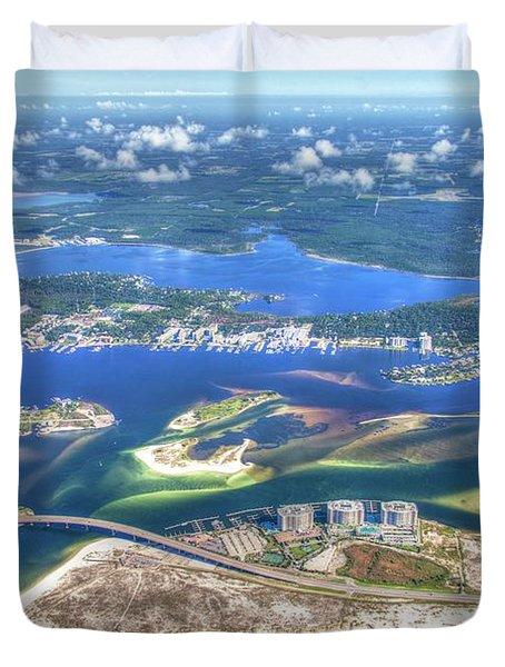 Backwaters 5122 Tonemapped Duvet Cover