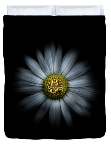 Duvet Cover featuring the photograph Backyard Flowers 31 Color Flow Version by Brian Carson