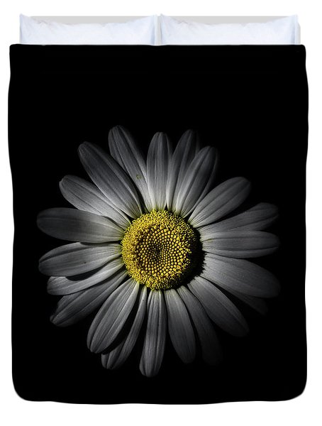 Duvet Cover featuring the photograph Backyard Flowers 52 Color Version by Brian Carson