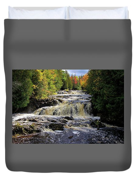 Bad River Cascade Duvet Cover