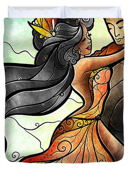 Bailar Conmigo Duvet Cover