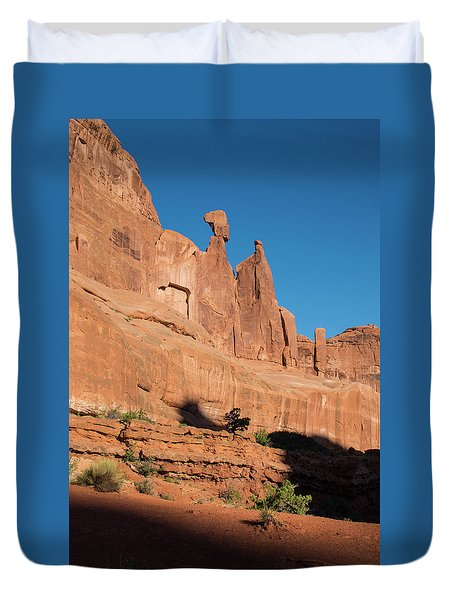Balance Rock Duvet Cover