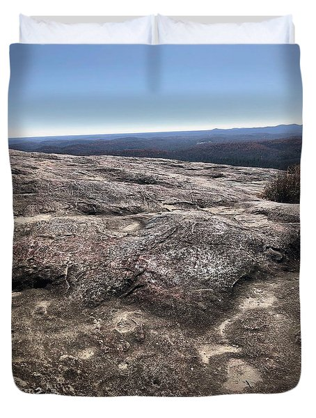 Bald Rock Duvet Cover