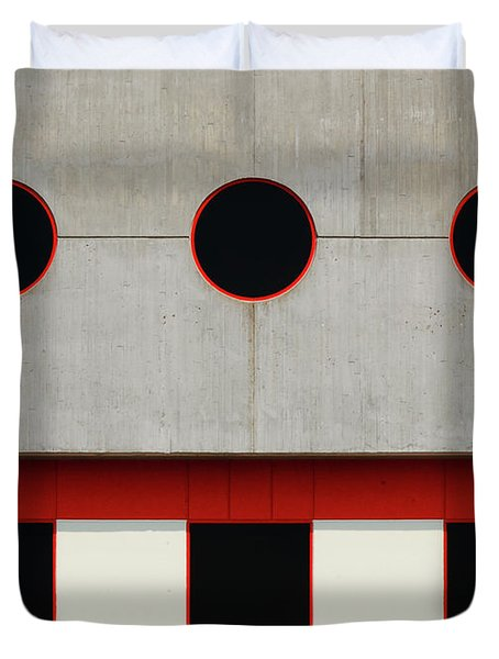 Baltimore Windows Duvet Cover