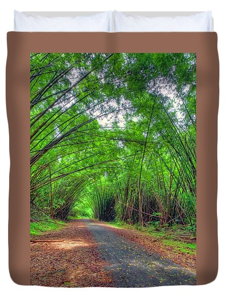 Bamboo Cathedral 2 Duvet Cover