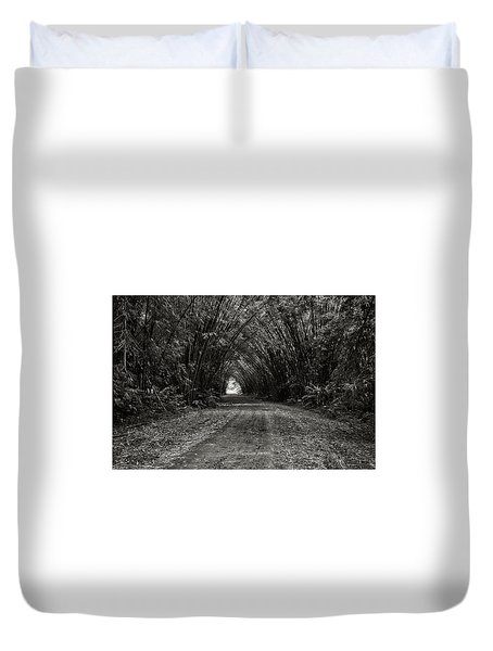 Bamboo Cathedral I Duvet Cover