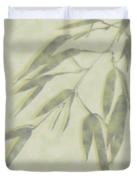 Bamboo Leaves 0580c Duvet Cover