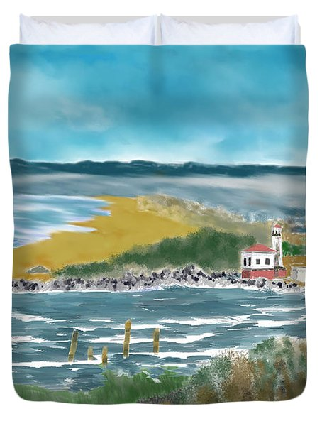 Bandon Lighthouse Duvet Cover