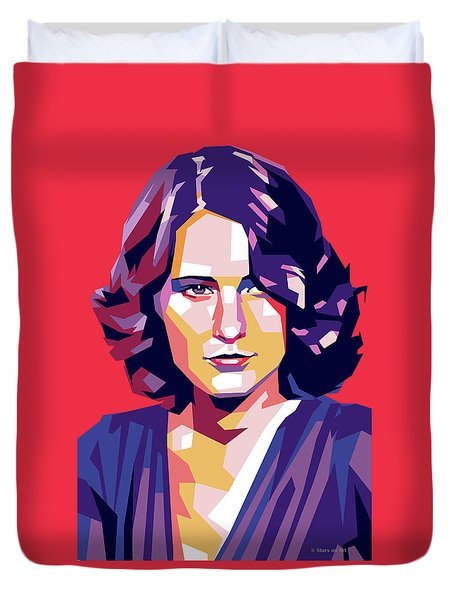 Barbara Stanwyck Duvet Cover
