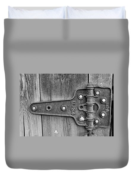 Barn Hinge Duvet Cover