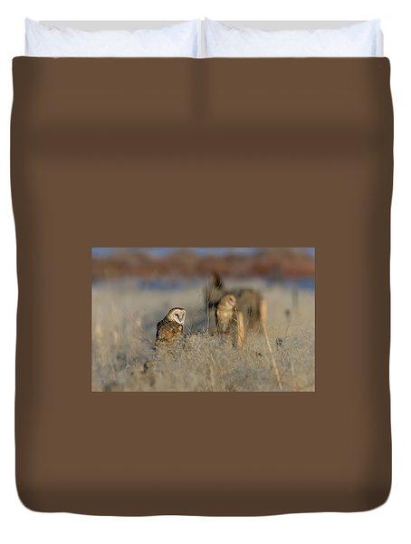 Barn Owls 9 Duvet Cover
