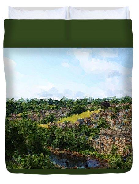 Barnard Castle View Duvet Cover