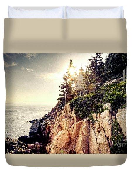 Bass Harbor Duvet Cover