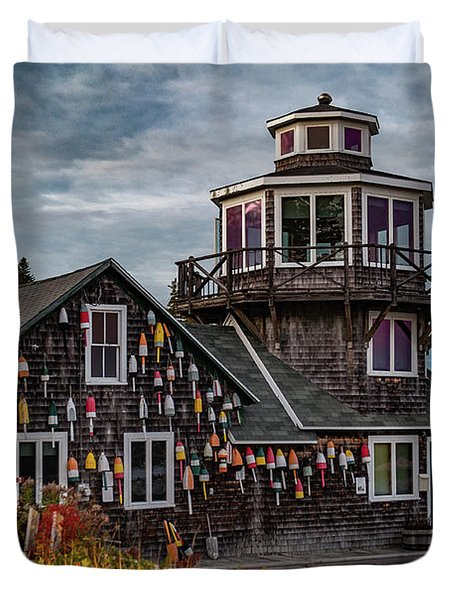 Bass Harbor Duvet Cover