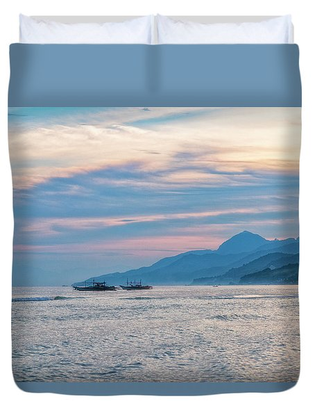 Batangas Sunset Duvet Cover