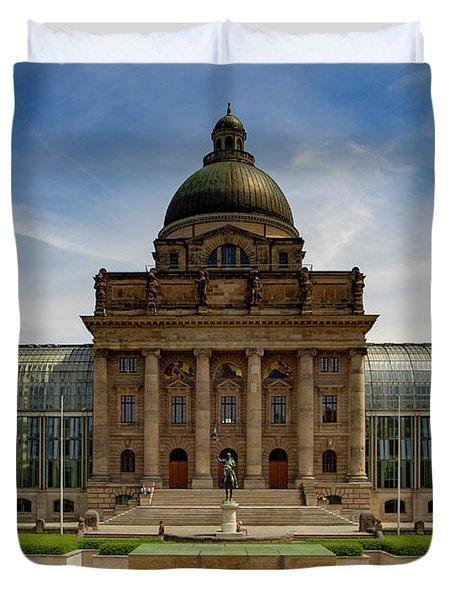 Bavarian State Chancellery, Berlin Duvet Cover