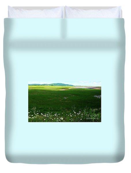 Bay Of Fundy Landscape Duvet Cover