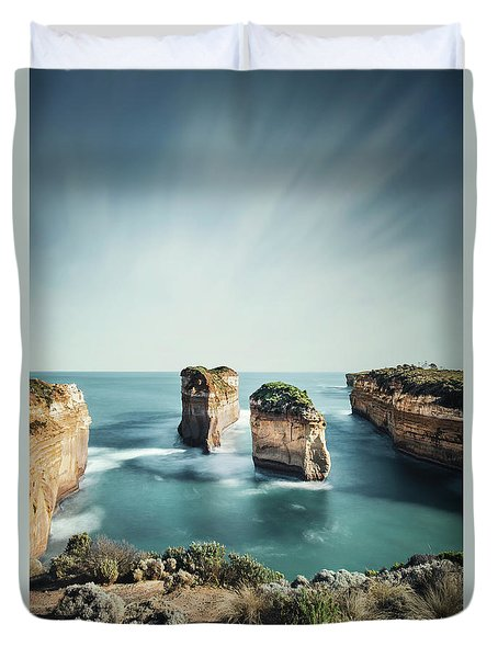 Bay Of Solitudes Duvet Cover