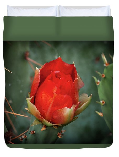 Duvet Cover featuring the photograph Be My Valentine by Rick Furmanek