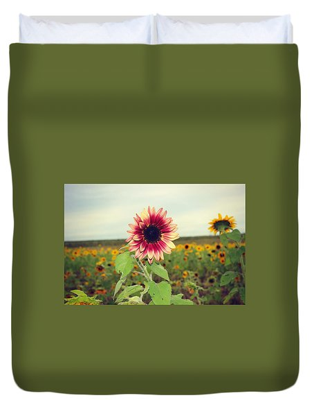 Duvet Cover featuring the photograph Be You by Candice Trimble