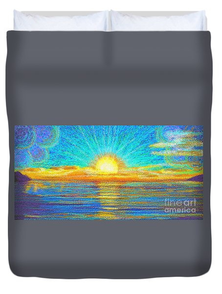 Beach 1 6 2019 Duvet Cover