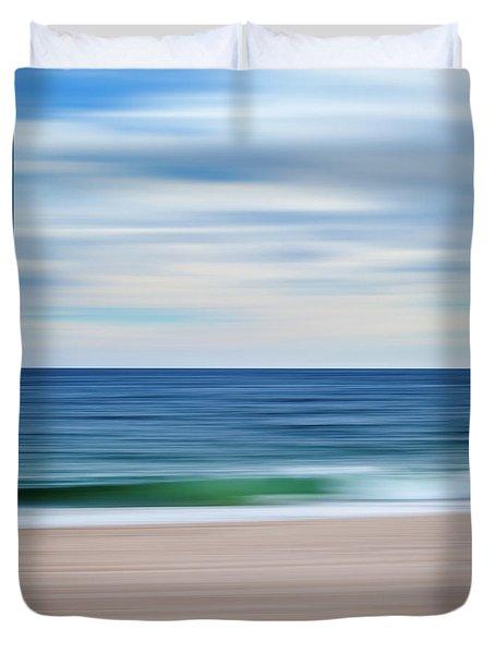 Beach Blur Duvet Cover