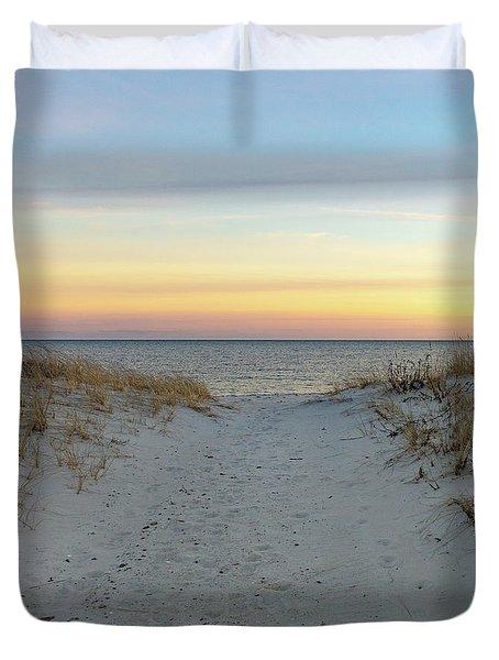Beach Break Duvet Cover