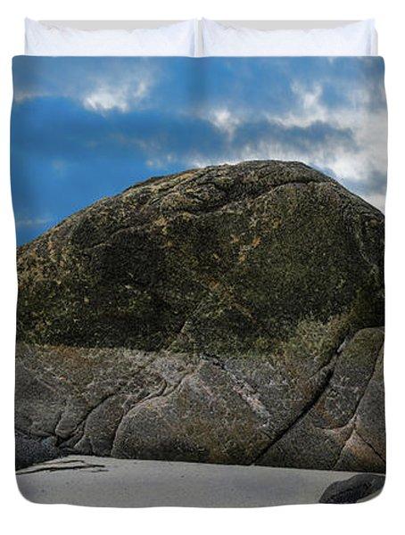 Beach Details Duvet Cover