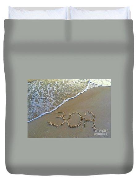 Beach Happy 2 Duvet Cover