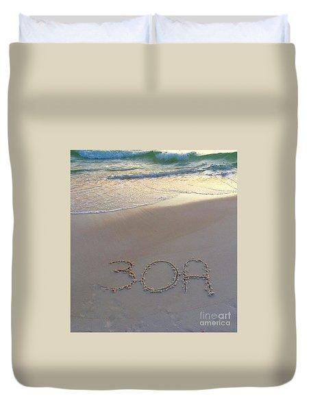 Beach Happy Duvet Cover