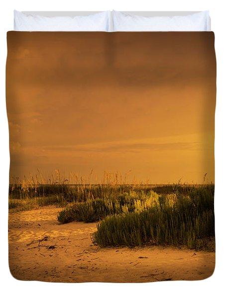 Beach Storm Front Duvet Cover