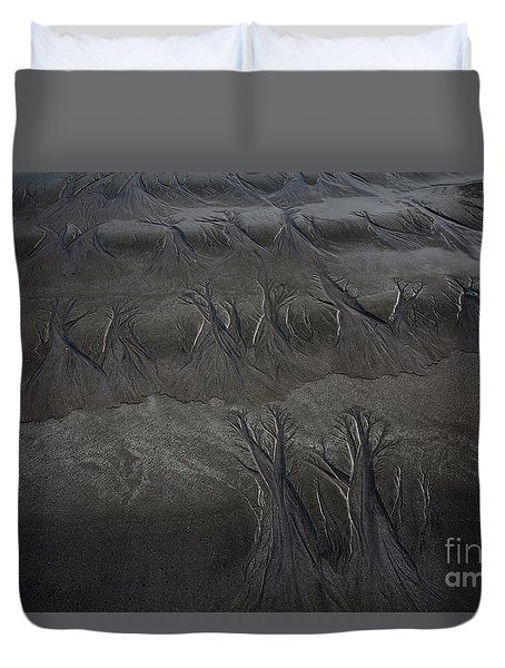 Beach Textures Duvet Cover