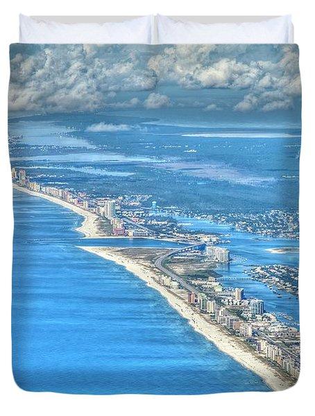 Beachmiles-5137-tonemapped Duvet Cover