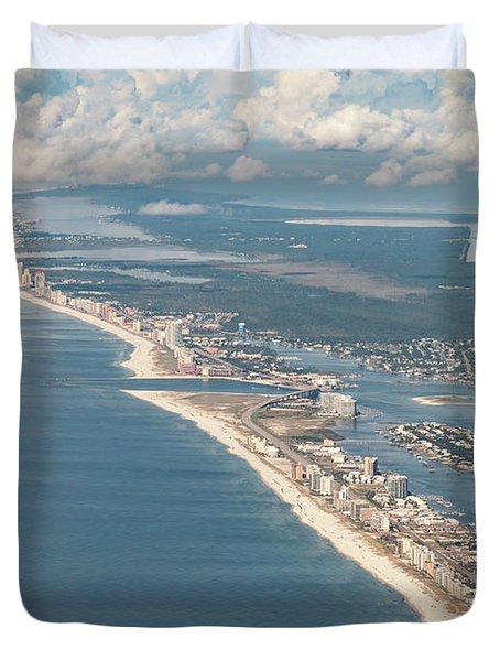 Beachmiles-natural-5137 Duvet Cover