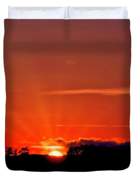 Beacon Heights Sunrise Duvet Cover