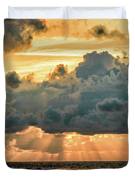 Beaming Through Duvet Cover