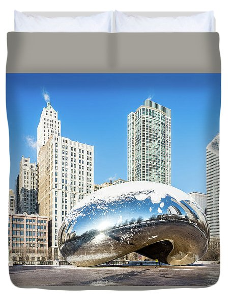 Bean Scene Duvet Cover