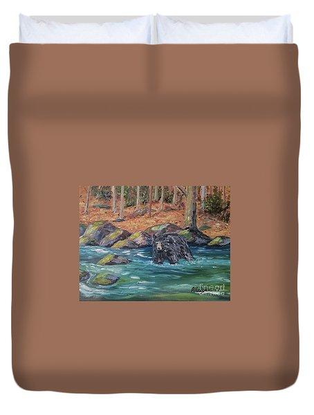 Bear Crossing Duvet Cover
