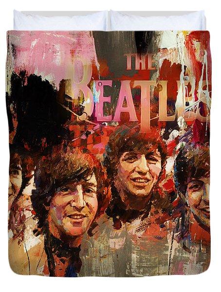 Beatles Duvet Cover