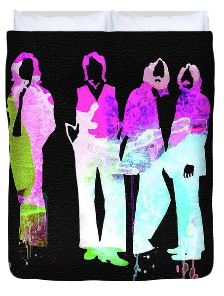 Beatles Watercolor II Duvet Cover