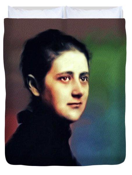 Beatrix Potter, Literary Legend Duvet Cover