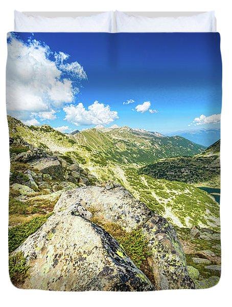 Beautiful Landscape Of Pirin Mountain Duvet Cover