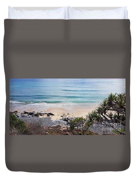 Beautiful Noosa Beach  Duvet Cover