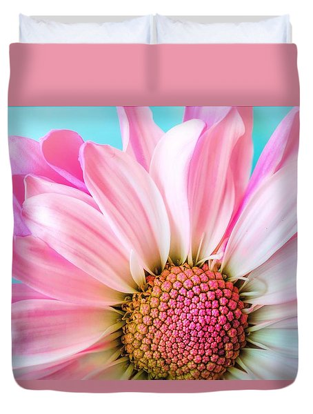 Beautiful Pink Flower Duvet Cover
